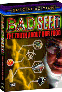 DVD Cover of Bad Seed: The Truth About Our Food